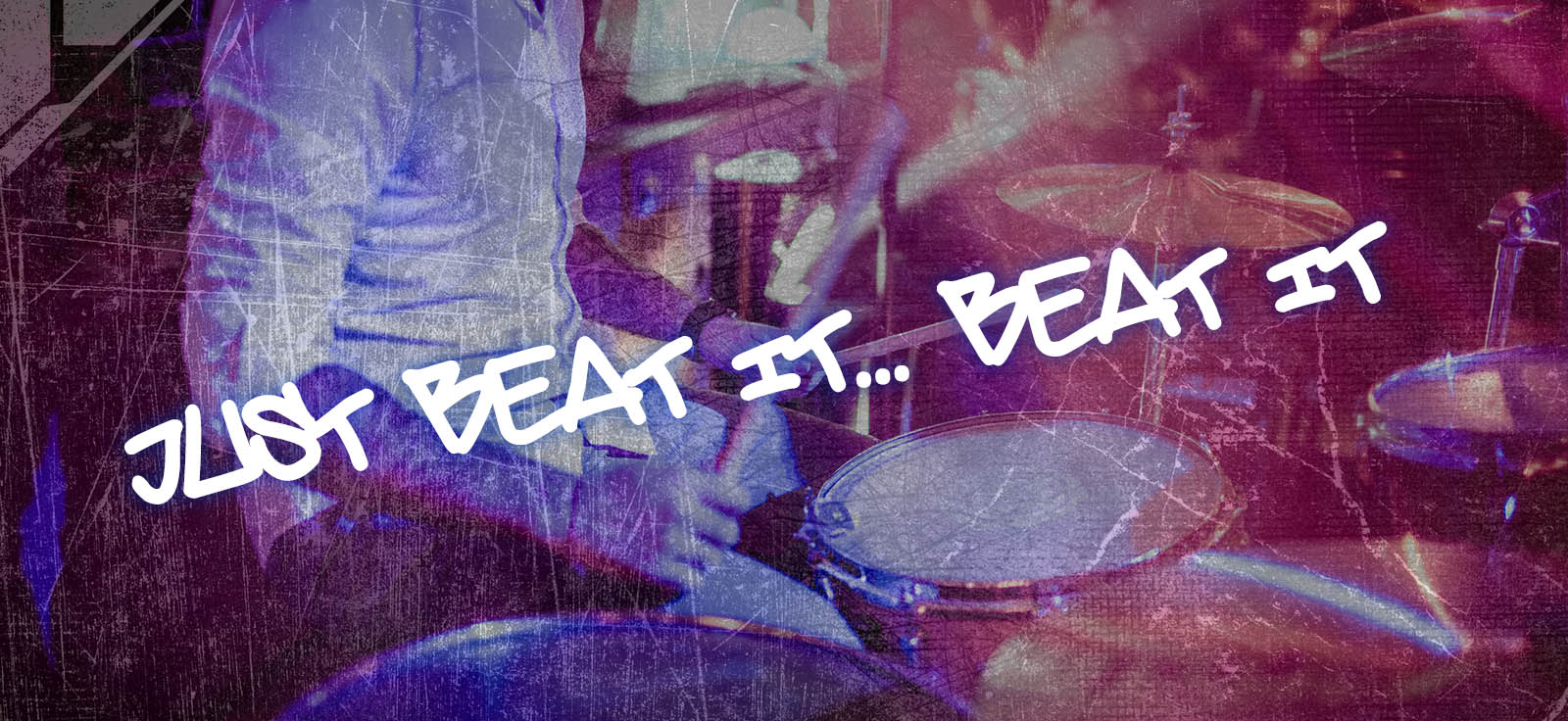 Drum lessons banner